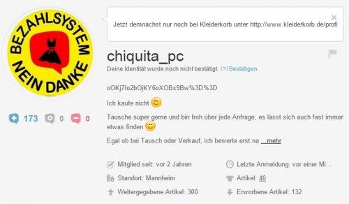 best service 639e9 5af94 Kleiderkorb.ch    Shoutbox