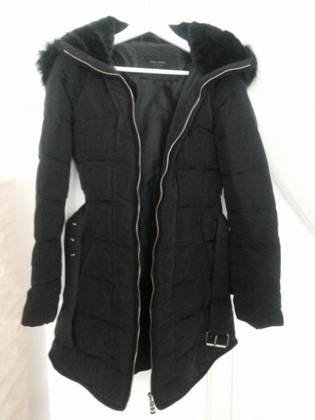 exquisite handwerkskunst detaillierter Blick große Sammlung ZARA blogger Mantel Daunenmantel Wintermantel Jacke 2014 sold out *NEU*