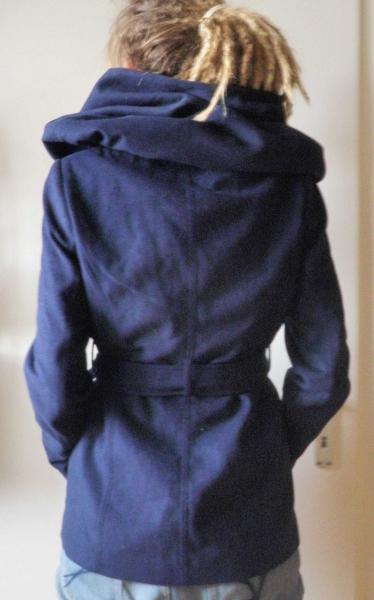 Mantel riesenkapuze