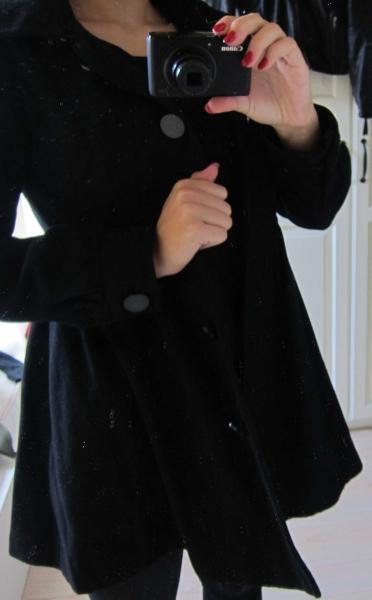 Schwarzer Tailliert Von Kleiderkorb ch amp;m H Mantel 8wvz8a