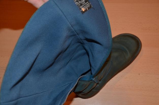 Dr. Martens Stiefel Docs Boots (echt Leder, used look, Echtleder Schuhe, flach, Größe 41, petrol, türkis)