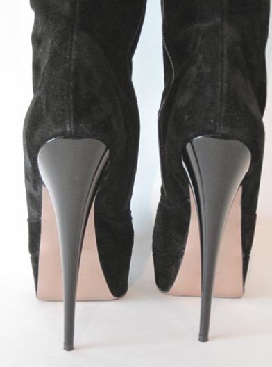 High heel overknee stiefel