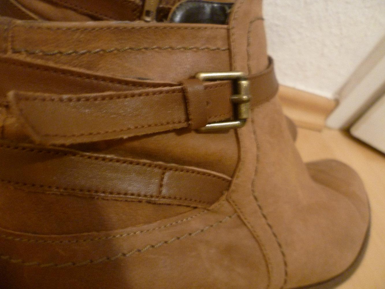 super beliebt moderate Kosten groß auswahl Braune Stiefeletten von 5th Avenue, Deichmann, echtes Leder, Ankle Boots,  Winter, Herbst, Blogger