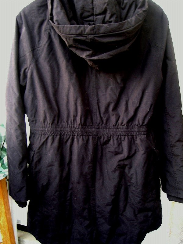 ...  Damen-Winterjacke Parka schwarz Gr. 40 mit Kapuze B-C Best Collection  ed4cc0e66e