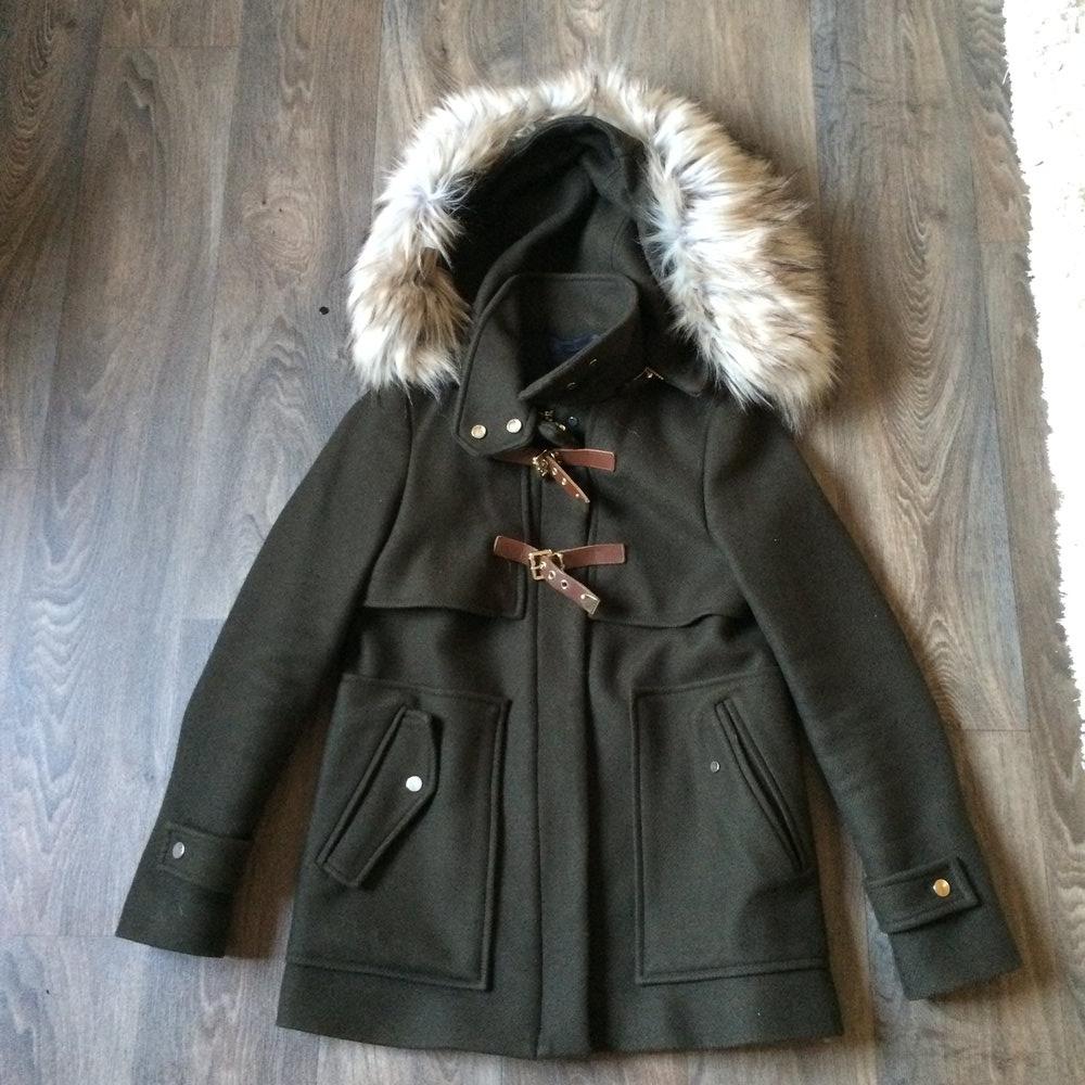 In Zara Zara Winterjackemantel KhakiKleiderkorb ch uZiPkOXT