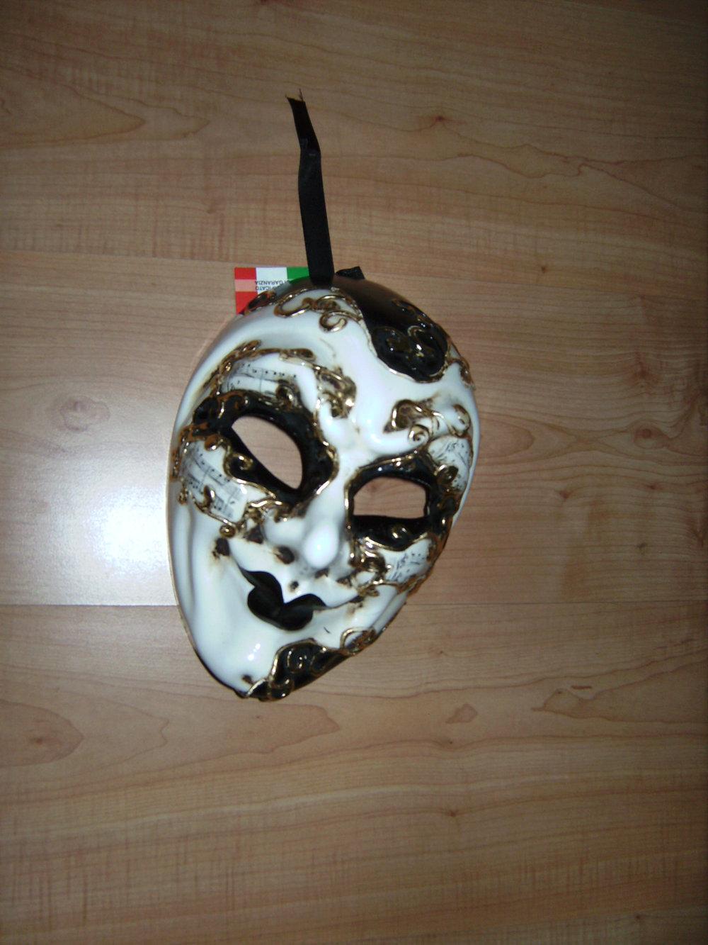 Schmuck Maske Venezia Handbemalt Fasching Venedig Motto Event