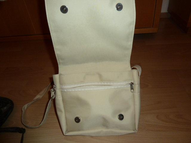Handtasche / Umhängetasche - beige / creme / nude