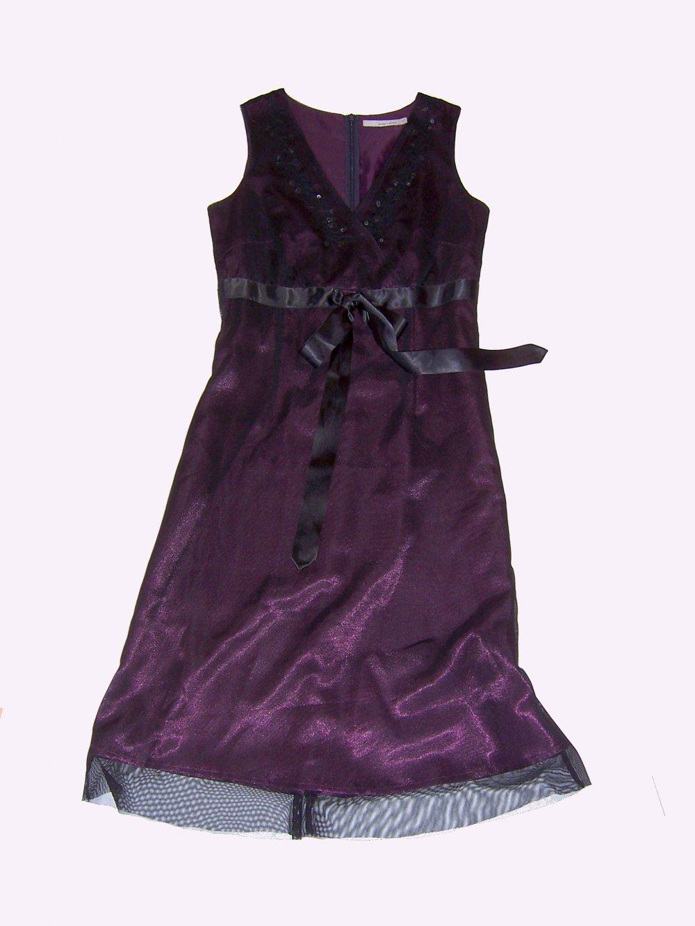 More & More - elegantes more&more Abendkleid lila ...