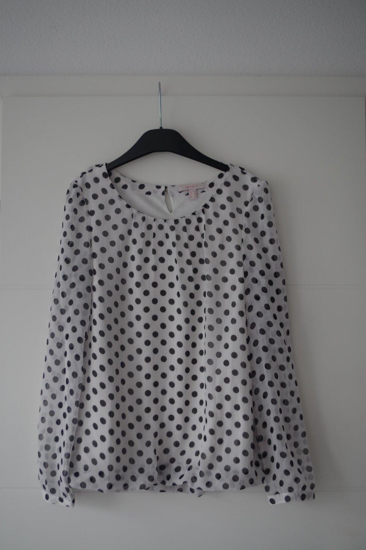 Gepunktete Esprit Bluse    Kleiderkorb.ch 364a0909b1