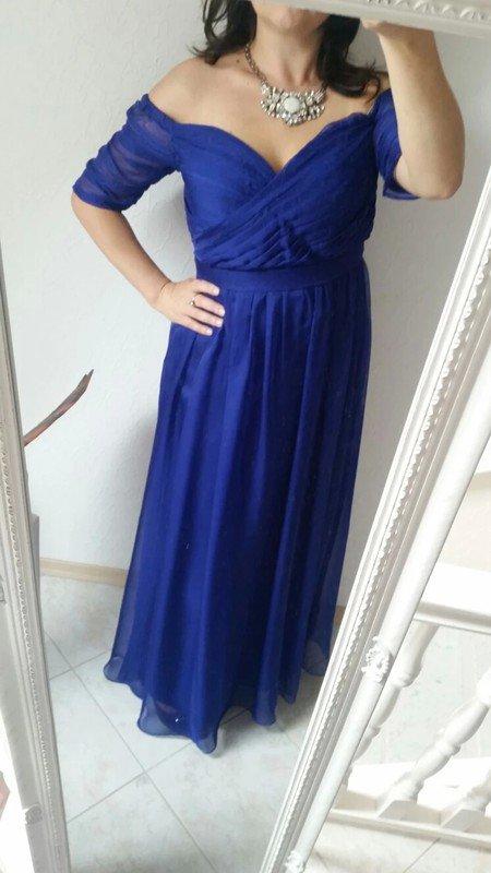 Zalando abendkleider blau