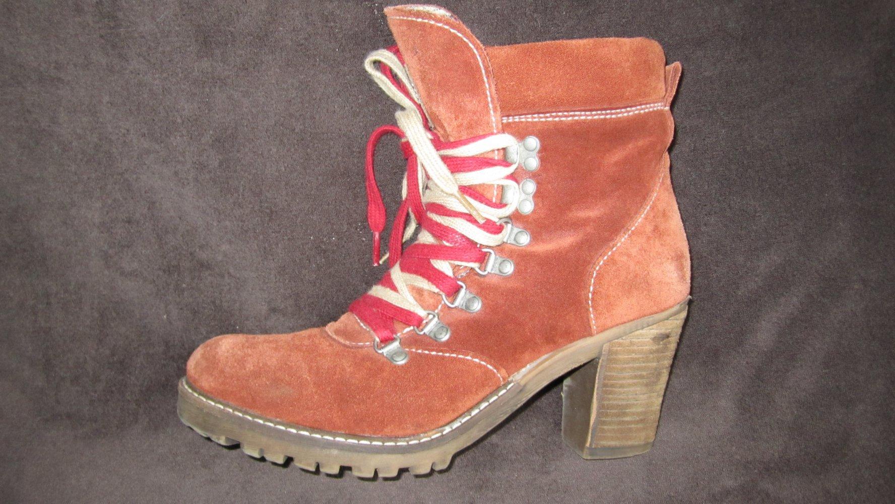 Boots Rost Orange Tamaris Stiefelette Boots Tamaris