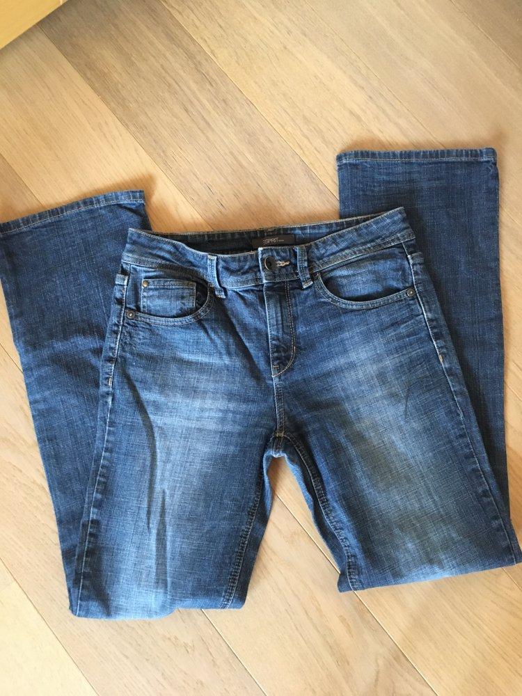 6d6a3ec215db1c Jeans Hose Boot Cut klassisch blau Esprit Gr. 29/32 :: Kleiderkorb.ch