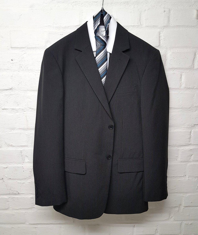 Adler - Herren Anzug mit Hose + Hemd + Weste + Krawatte Gr
