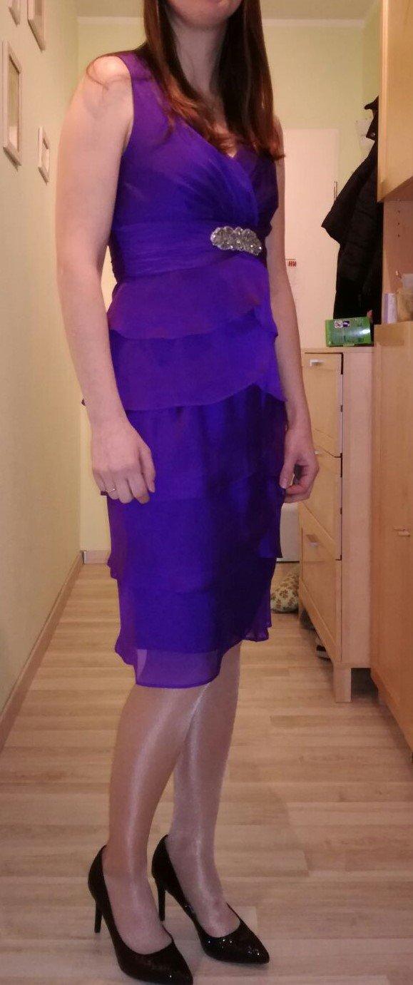 C&A - Abendkleid Gr. 36 in lila zu verkaufen :: Kleiderkorb.ch