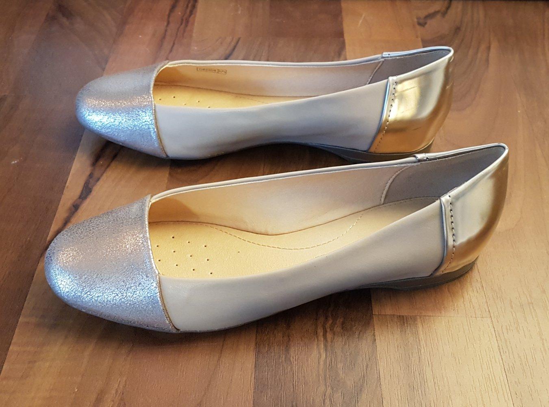 *Geox* Ballerina in Gold Gr. 37,5