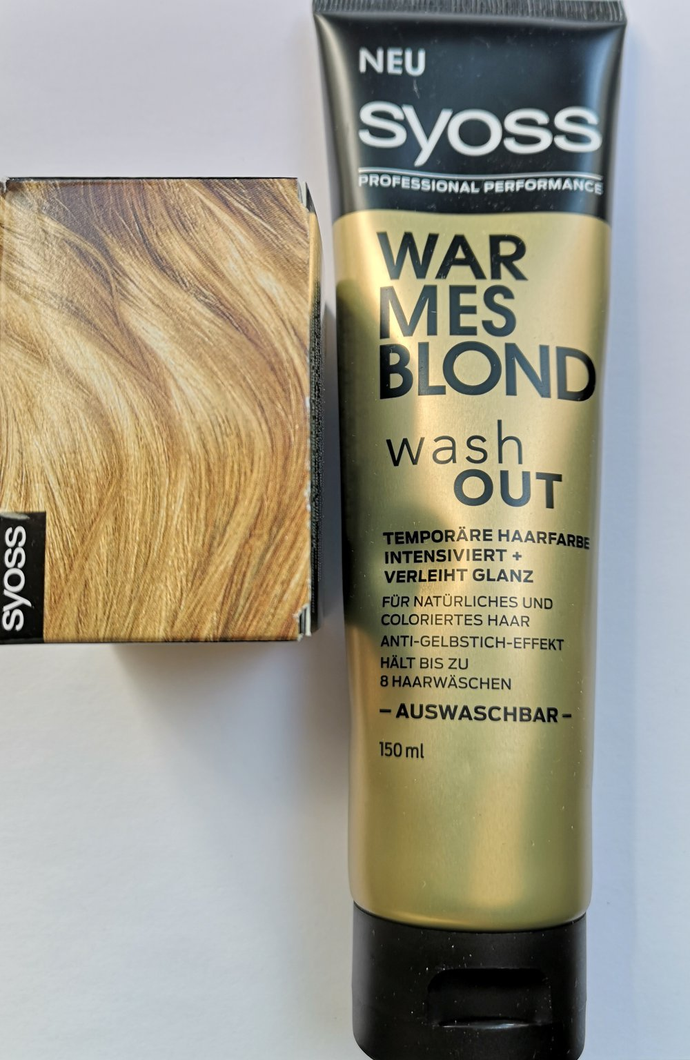 Syoss warmes blond wash out