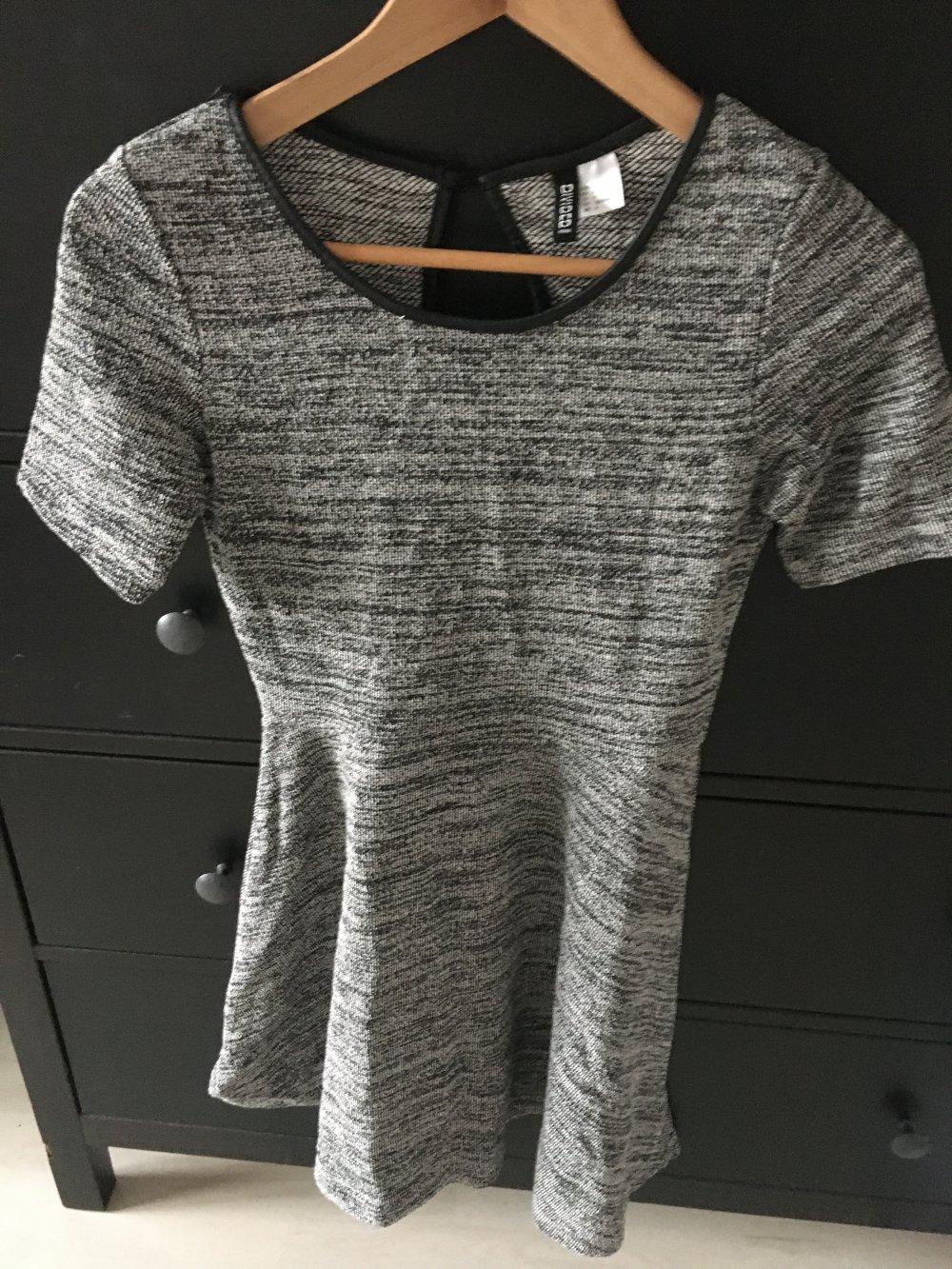 Kleid grau H&M Divided 36/S :: Kleiderkorb.ch
