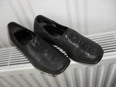 Kämpgen Handmade Halbschuhe Slipper Schuhe Mokassin Leder