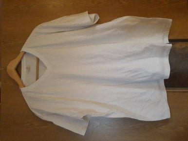 schicker grau melierter Pullover, Gr. XL 42, Jean Pascale