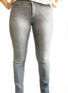 4Wards Jeans NEU Gr.44 Damen Stretch Dark Blau Used Denim Hose Slim Fit L32